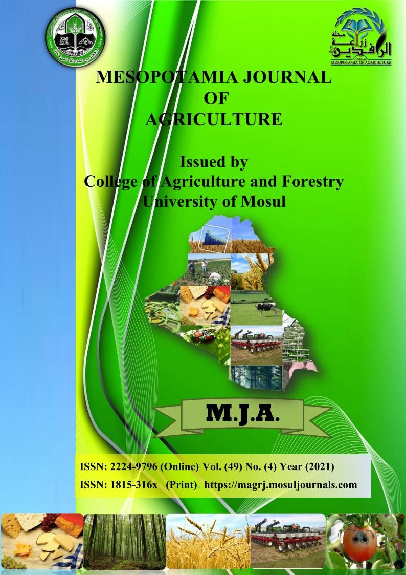 Mesopotamia Journal of Agriculture